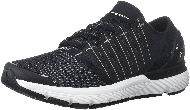 Under Armour Men's Speedform Europa Running Shoe B071L6GBMQ 7 M US|Black (004)/Steel