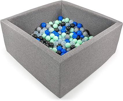 BKWZ1 Tweepsy B/éb/é Piscine A Balles pour Enfants Bambin 250 Balles 90x90X40cm Fabriqu/é en EU