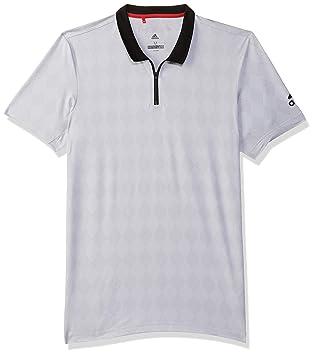 adidas BCADE Polo - Polo, Hombre, Gris(BRGRCL/Blanco): Amazon.es ...