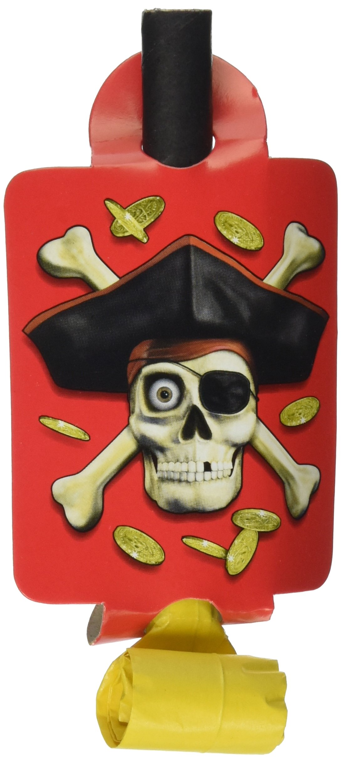Unique Blowouts 8/Pkg-Pirates Bounty