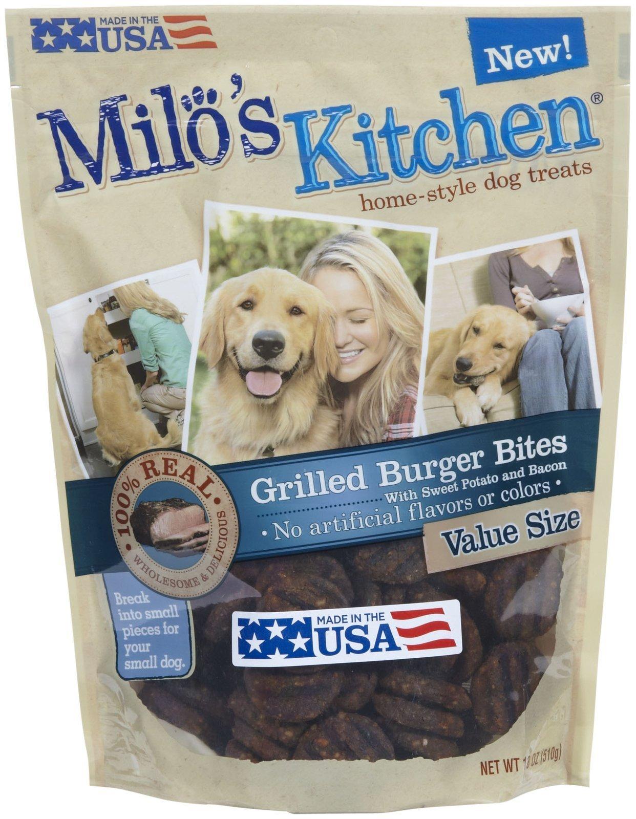 Big Heart Pet Milo's Grilled Burger Treats, 18 oz