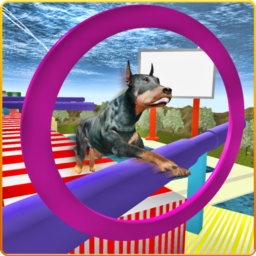 Real Dog Stunt & Jump Derby 3D