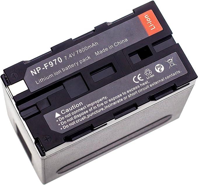 PATONA Premium Batteria sostituzione per Sony NP-F550 NP-F330 NP-F530 NP-F750 NP-F930 NP-F950 con nuove celle di alta qualit/à