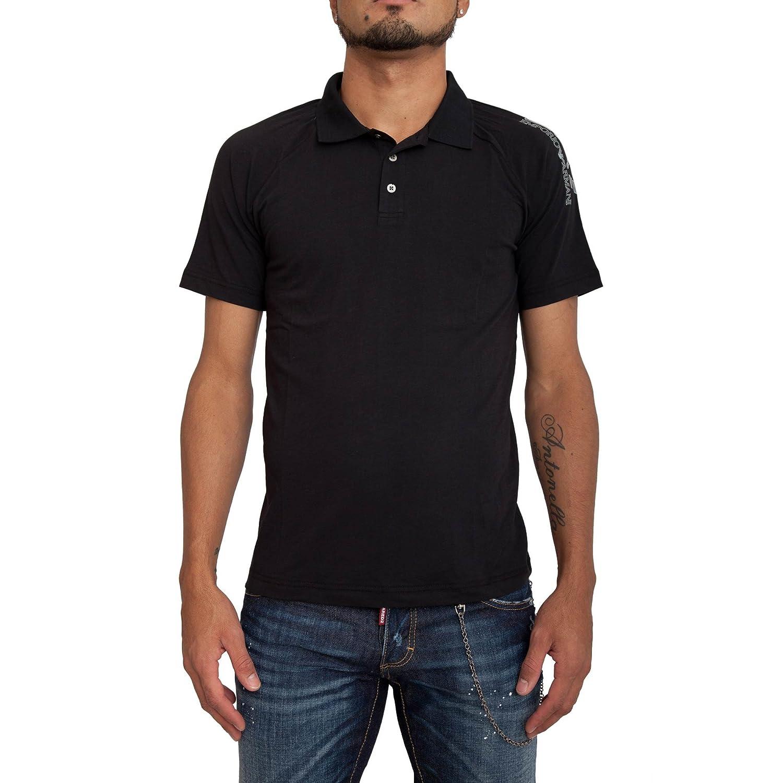 Poloshirt EA7 EMPORIO ARMANI Herren 3YPF83 PJ03ZE1200 Schwarz: Amazon.de:  Bekleidung