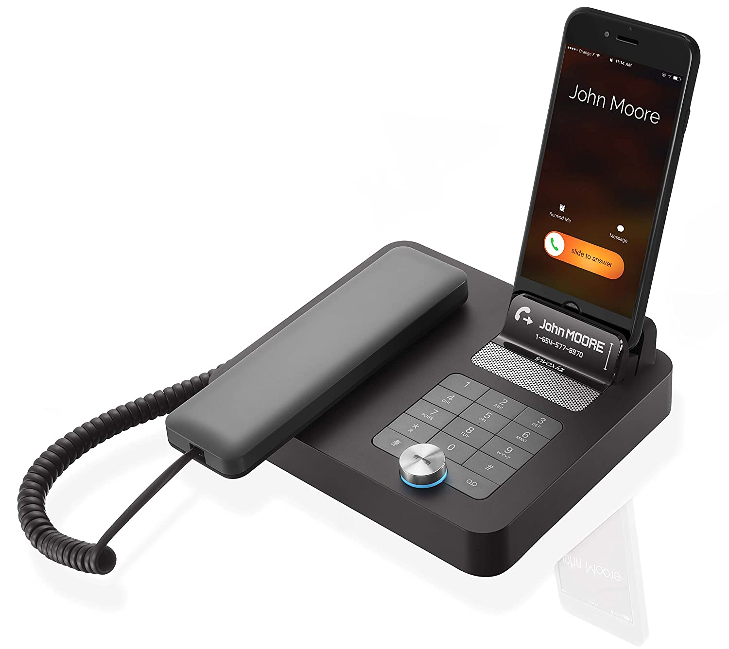 Amazon NVX 200 Bluetooth speakerphone for the office Turn your mobile into a desk phone Electronics