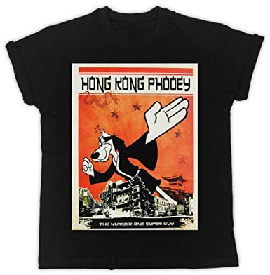 FUNNY COOL HONG KONG PHOOEY MOVIE PRINTED BLACK TSHIRT IDEAL BIRTHDAY GIFT DESIGNER T SHIRT
