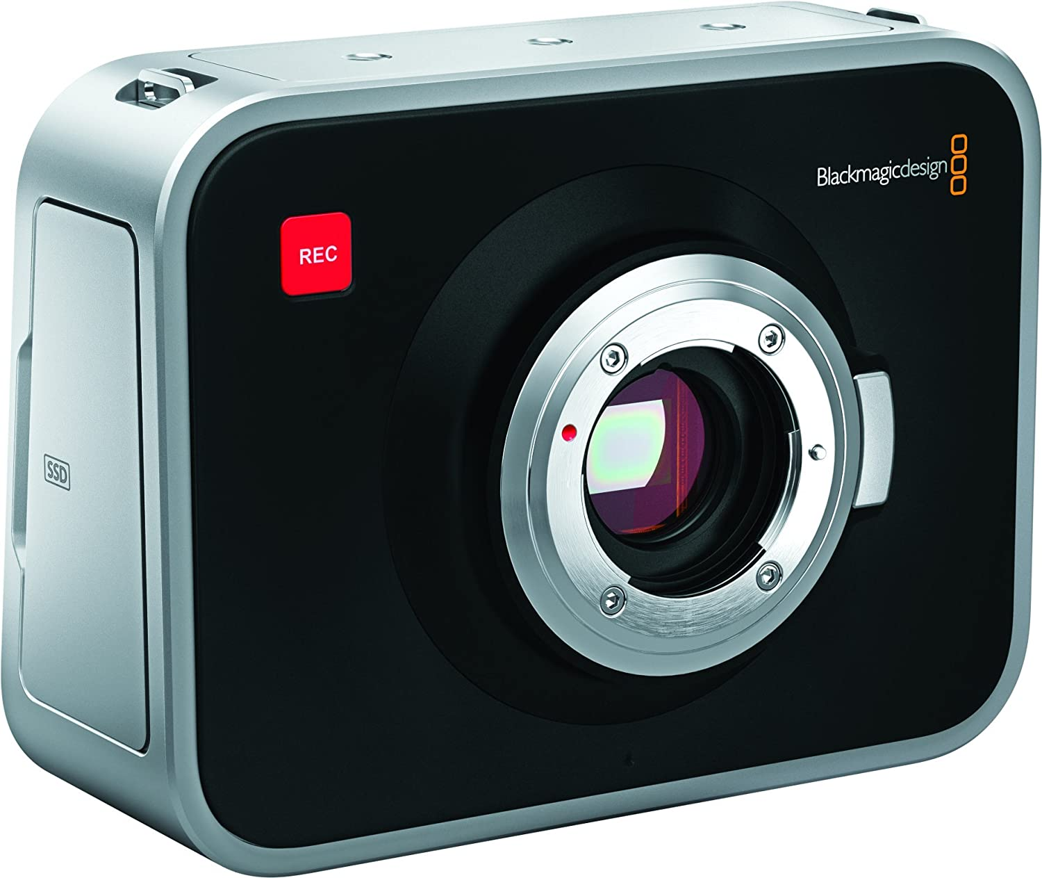 Amazon.com : Blackmagic Design Cinema Camera MFT 2.5k Video Camera ...