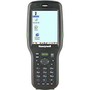 Honeywell 6500LP81222E0H Dolphin 6500 Handheld Mobile Computer, WLAN and WPAN, IS4813 Laser Engine, 28 Key, 256MB RAM x 256MB Flash, Power Adaptor, Handstrap, Stylus