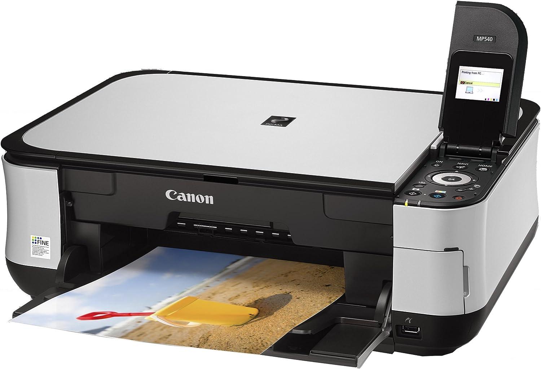 Canon Pixma MP540 - Impresora multifunción de Tinta Color (26 ipm ...