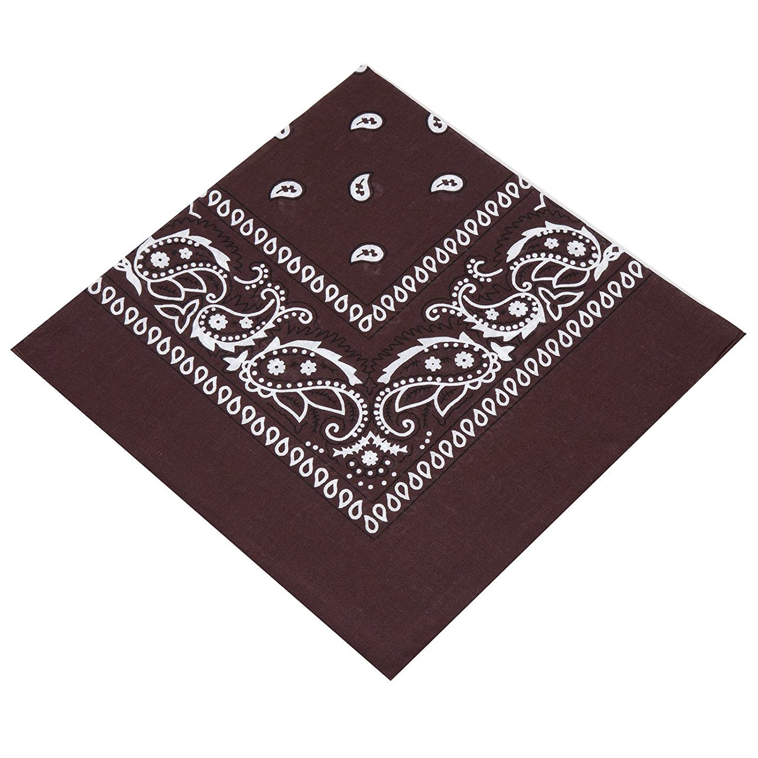 12 Unisex Paisley Bandanas Choose From 19 Colours