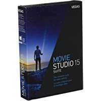 Vegas Movie Studio 15 Suite|Standard|1 Device|1 Year|PC|Disc