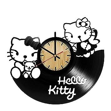 amazon forlovedgifts hello kitty design vinyl wall clock Hello Kitty Waterbeds forlovedgifts hello kitty design vinyl wall clock handmade gift for any occasion unique birthday