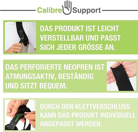 Calibre - Rodillera de compresión de neopreno con diseño abierto ...