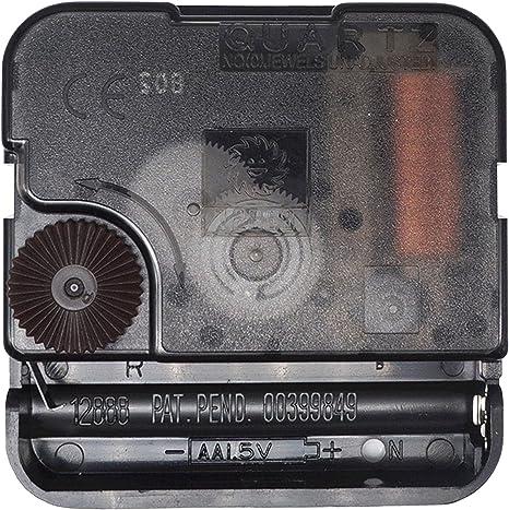 Manual Quartz Clock Mechanism Module for Wall Clock Parts 1 Battery Power Cell