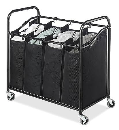 Large Laundry Sorter Cool Amazon Laundry Sorter Cart 60Section Hamper Heavy Duty
