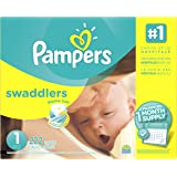 Pampers Swaddlers Diapers Size 1 222 count
