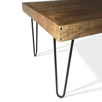 The Craftsmanu0027s Hammer 16u0026quot; Hairpin Table Legs, 1/2u0026quot; Thick Cold  Rolled