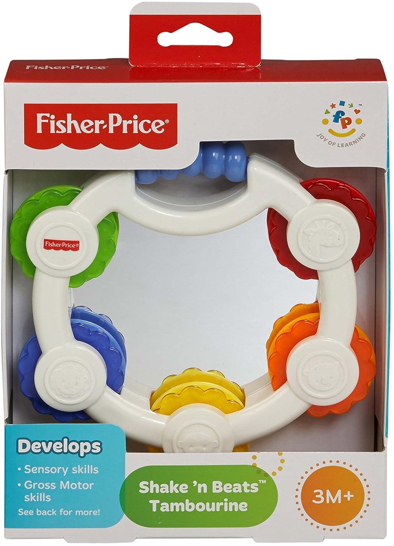 3 Meses DRF17 Fisher-Price Sonajero Trompeta Juguete para beb/é