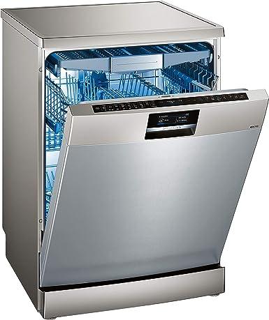 Siemens iQ700 SN278I36TE lavavajilla Independiente 13 cubiertos A+++ - Lavavajillas (Independiente, Tamaño completo (60 cm), Plata, Negro, Plata, ...