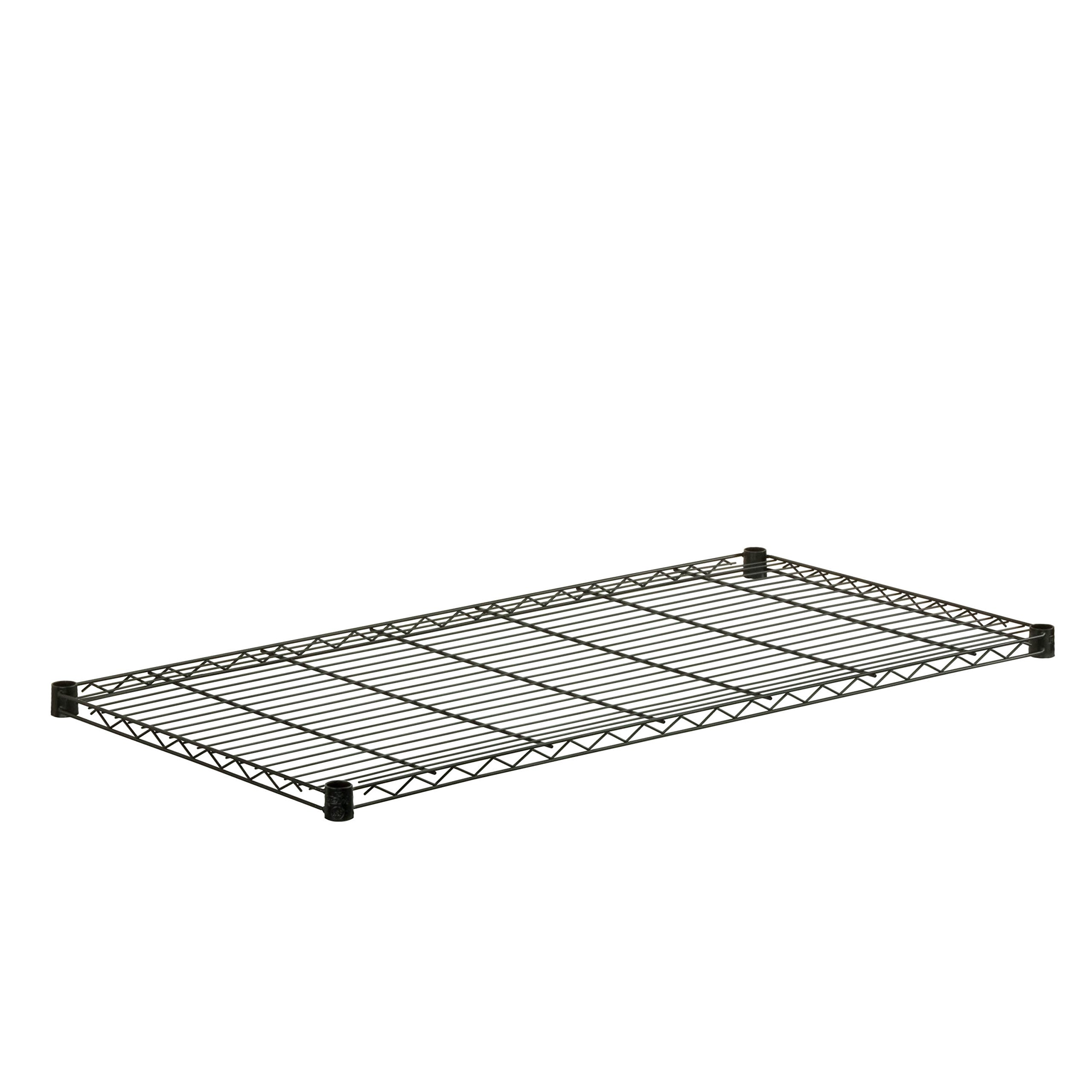 Honey-Can-Do SHF250B1848 Steel Shelf for Urban Shelving Units, 250-Pound Capacity, Black, 18L x 48W