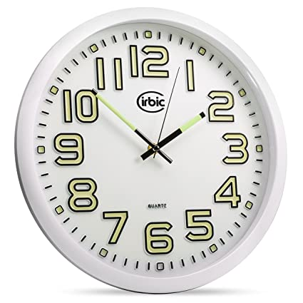 Cirbic Luminoso Reloj de Pared