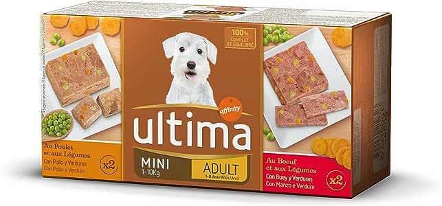 Ultima Comida Húmeda Sublime para Perro Mini Adulto con