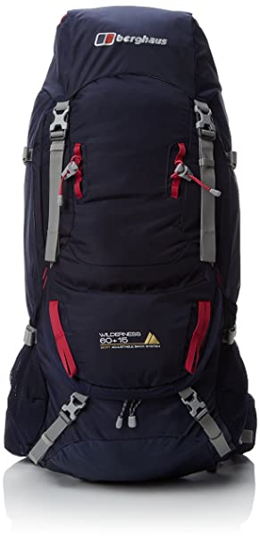 Berghaus Mens Wilderness 65+15 Litre Rucksack  Amazon.co.uk  Sports ... 0903d107b727e