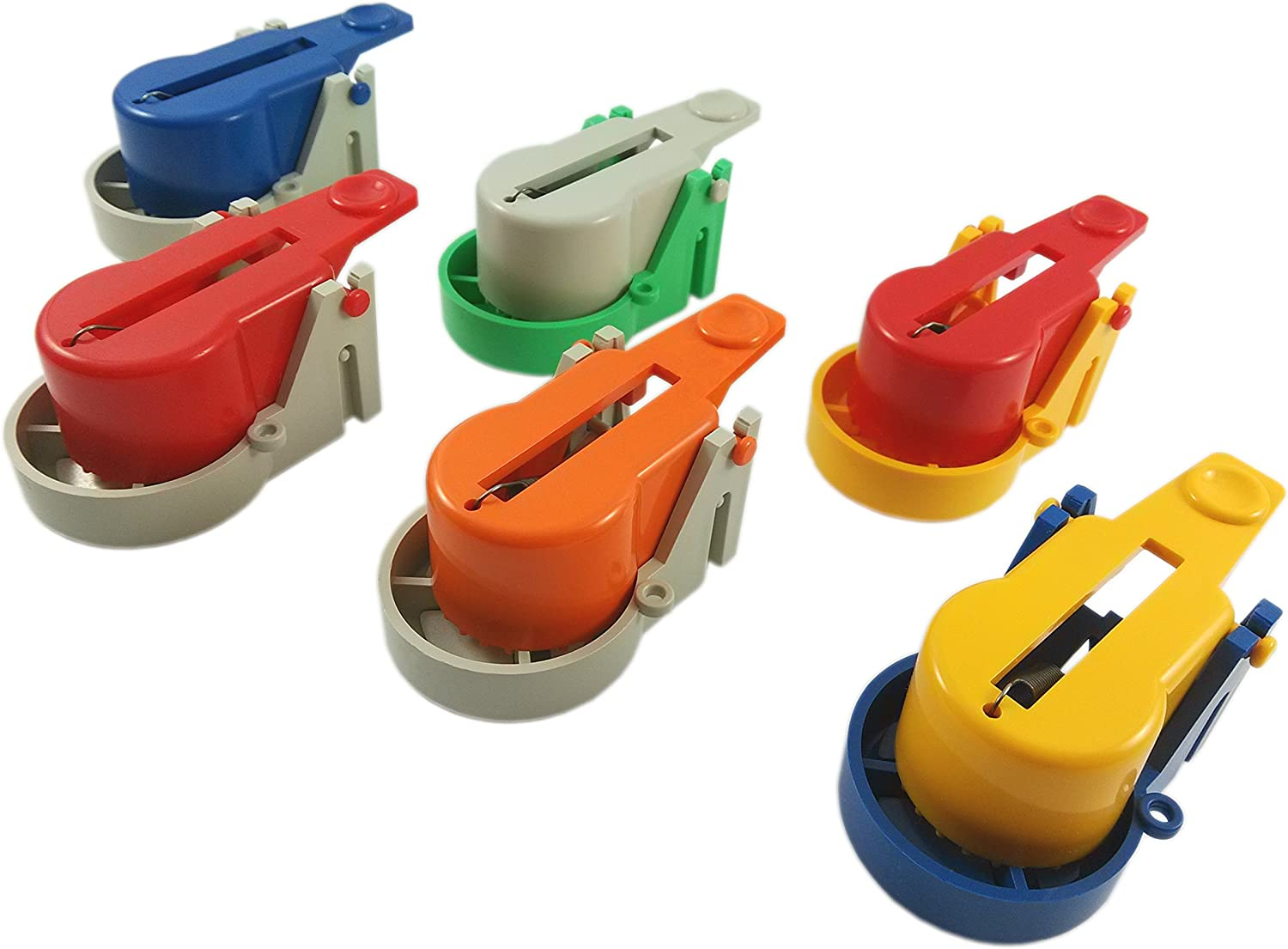 Amazon Com Made2catch Pack Of 6 Easy Use Mouse Traps Model 2016 Random Colors Easy Set Snap Mouse Trap Reusable Humane Mouse Traps That Work Mice Voles And