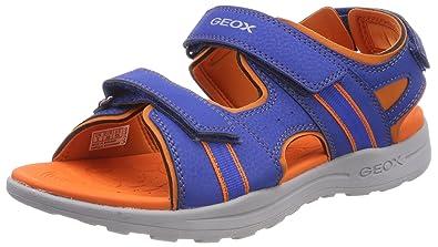 Geox J Gleeful B, Sandalias con Punta Abierta para Niños: Amazon.es: Zapatos y complementos