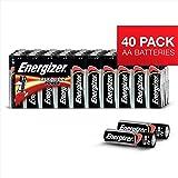 Energizer Alkaline Power AA Batteries, 40 Pack