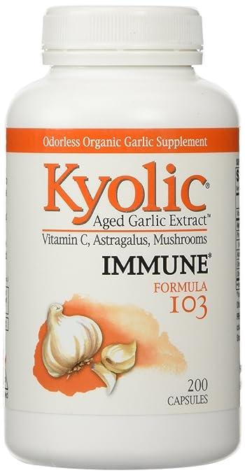 Kyolic Garlic Formula 103 Immune Formula (200 Capsules)