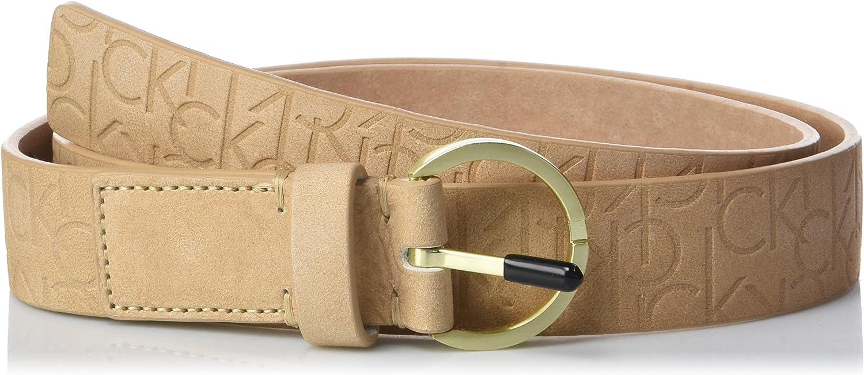TALLA 80. Calvin Klein Cinturón para Mujer