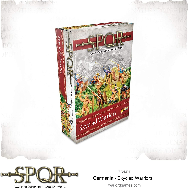 Warlord Games SPQR:ゲルマニア スカイクラッド ウォリアーズ