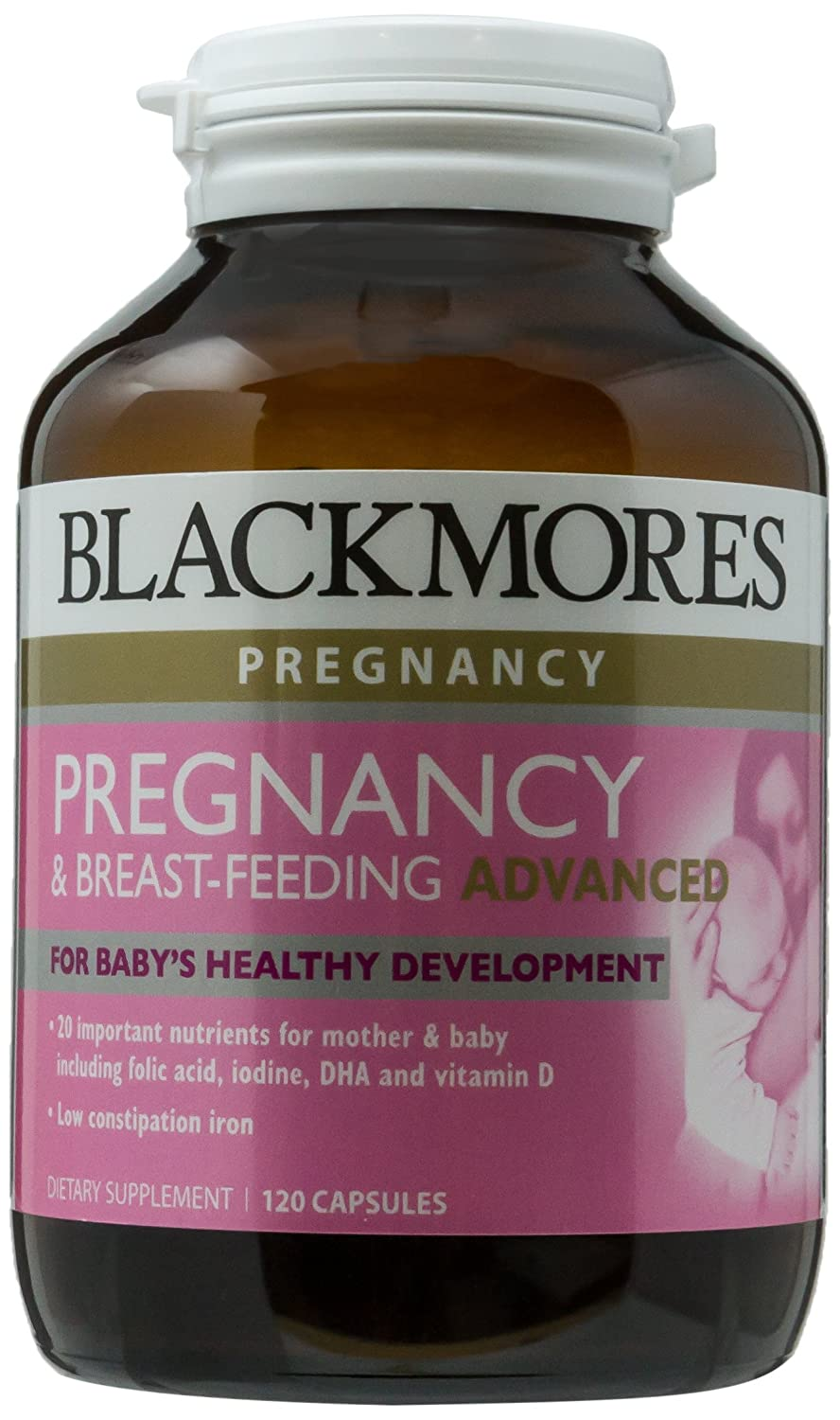 Blackmores Pregnancy Breastfeeding Advanced 120caps Breast Feeding Gold Health Personal Care