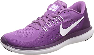 Nike Flex 2017 RN, Zapatillas de Running para Mujer, Morado (Monarch Purple/White-Night Purple-Purple), 42 EU: Amazon.es: Zapatos y complementos