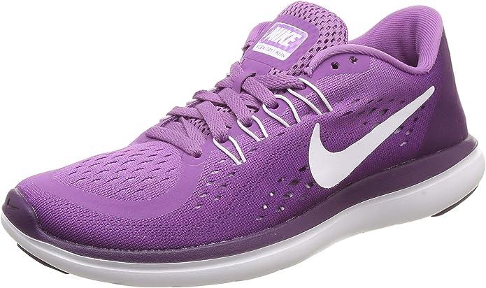 Nike Flex 2017 RN, Zapatillas de Running para Mujer, Morado (Monarch Purple/White-Night Purple-Purple), 42 EU: Amazon.es: Zapatos y complementos