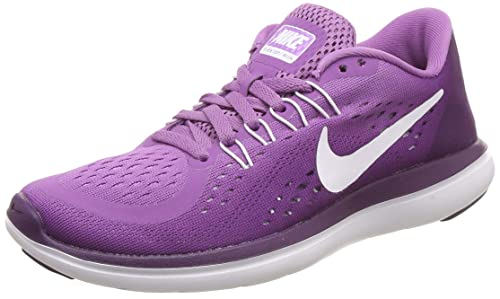 new products 70a2b 3a88e Nike Womens Flex 2017 RN Athletic   Sneakers Purple