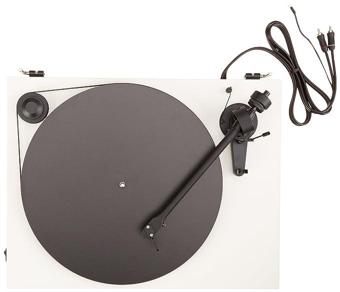 Pro-Ject Essential II - Tocadiscos, blanco: Amazon.es: Electrónica