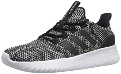adidas Neo Women's Cloudfoam Ultimate W Sneaker,Black/Black/White,5.5 Medium