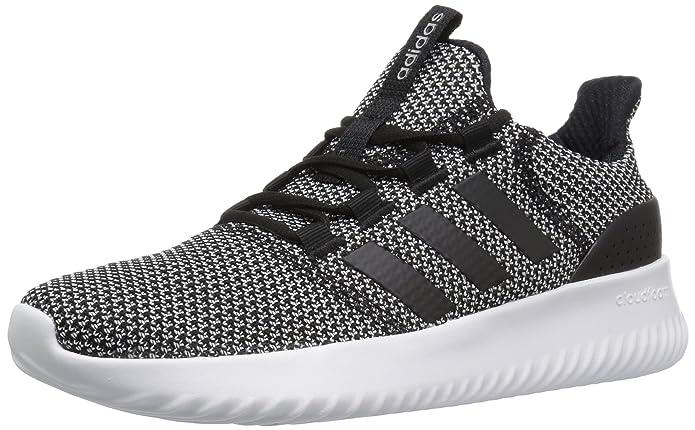 adidas NEO Women's Cloudfoam Ultimate W Sneaker,BLACK/BLACK/WHITE,7.5 Medium US