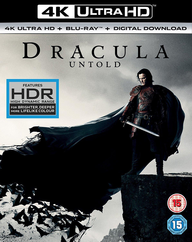 Amazon Com Dracula Untold 4k Uhd Blu Ray Luke Evans Sarah