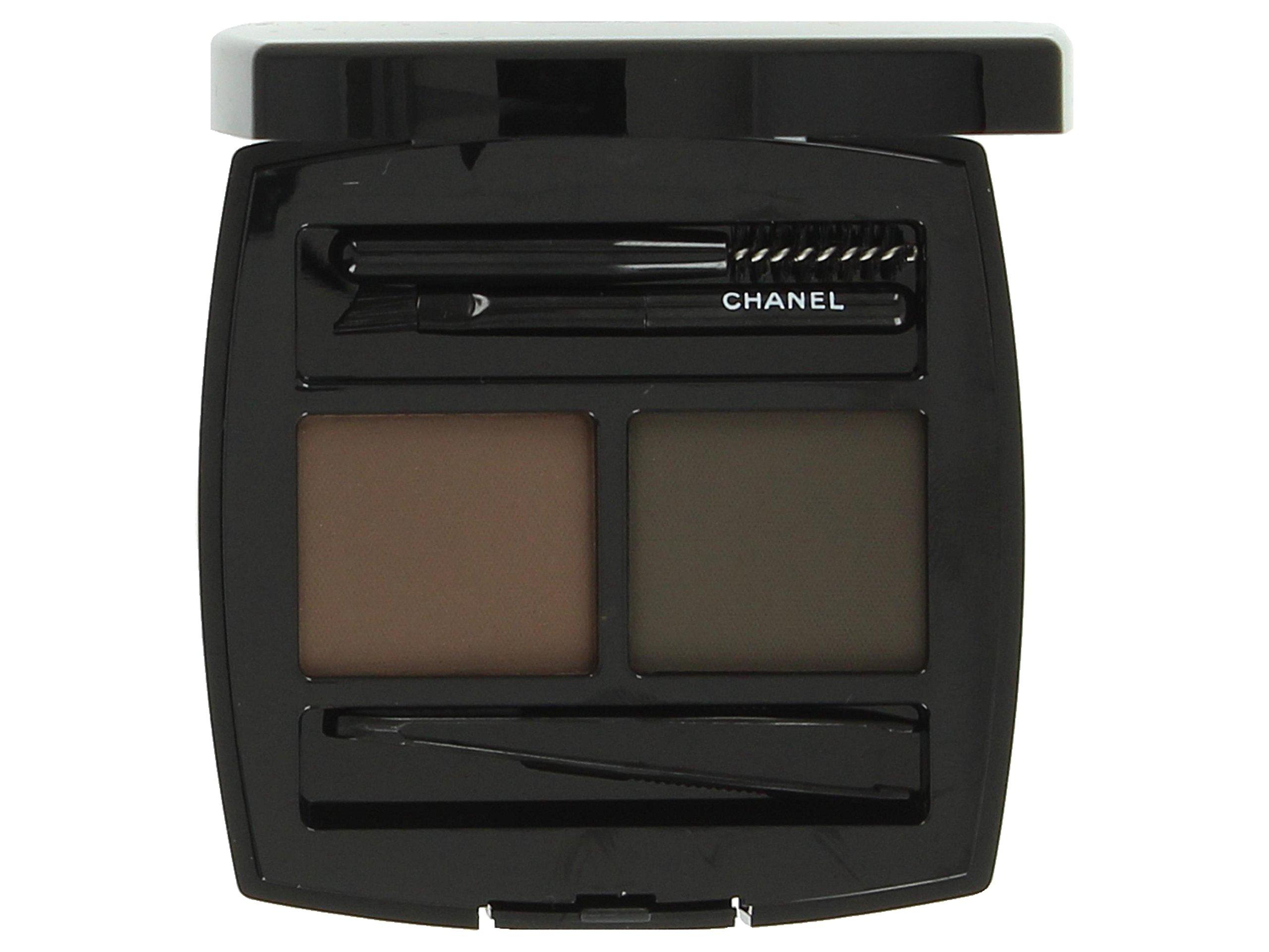 Chanel La Palette Sourcils De Chanel Brow Powder Duo 50 Brun for Women Powder, 0.14 Ounce by CHANEL