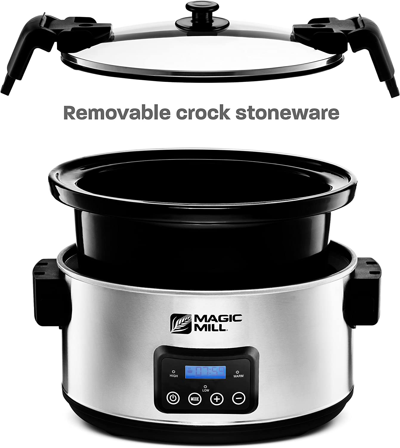 What are the best electric pressure cookers? Magic Mill 8.5 Quart Programmable slow cooker