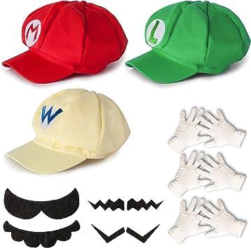Katara Disfraz Super Mario, Luigi, Wario, Cosplay, Adultos/Niños ...