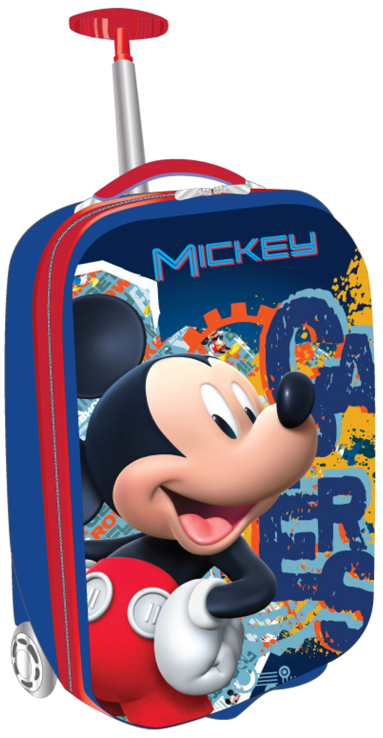 Disney Mickey Mouse, Blue/Red, One Size