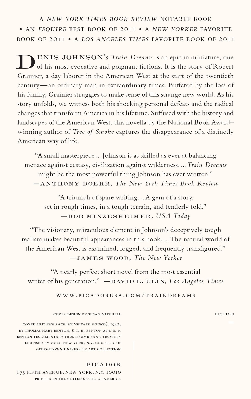 Train Dreams: A Novella: Denis Johnson: 9781250007650: Amazon: Books