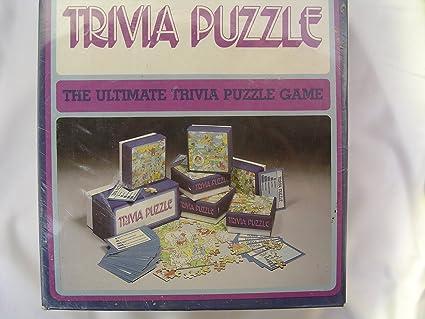 Amazon.com: Trivial Pursuit clásico 1984 Puzzle; Más 3000 ...