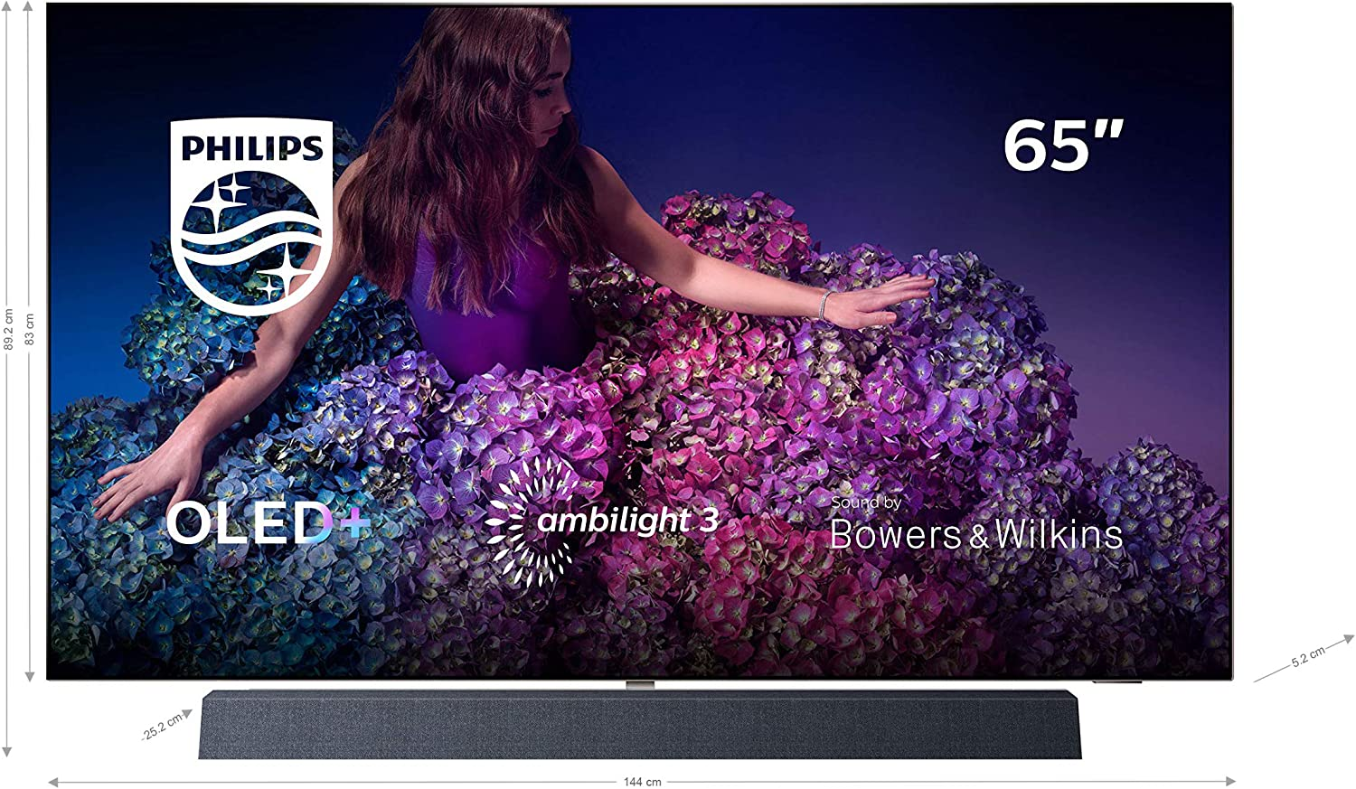 Philips - TV OLED 164 Cm (65) Philips 65Oled934/12 4K HDR Smart TV, Ambilight Y Android TV con Inteligencia Artificial (IA): Amazon.es: Electrónica