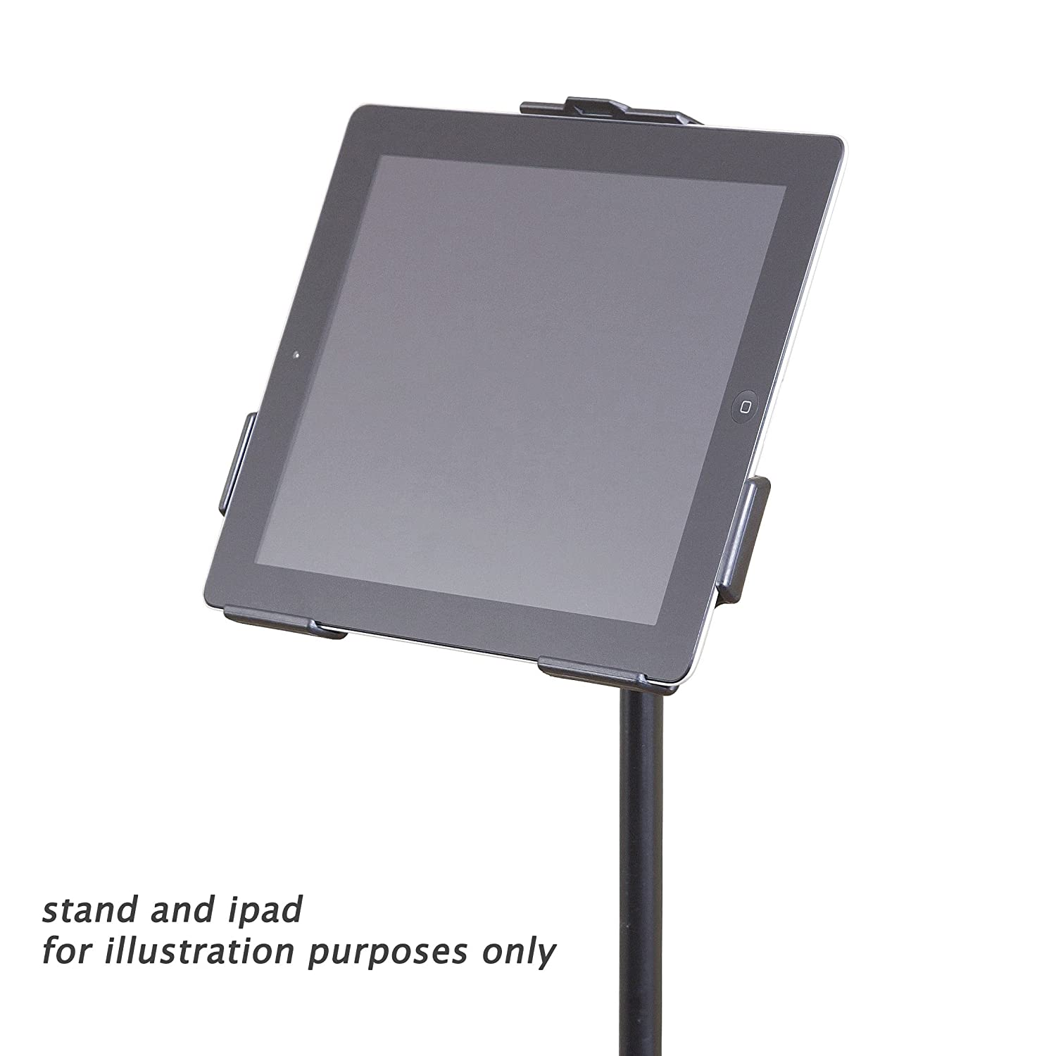 k m stands ipad2 mic stand holder musical instruments