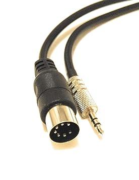Découvrez acheter réel boutique officielle Câble 7 broches vers prise jack de 3,5 mm - Se connecte au iPod, iPad,  iPhone, MP3, PC, TV, Android